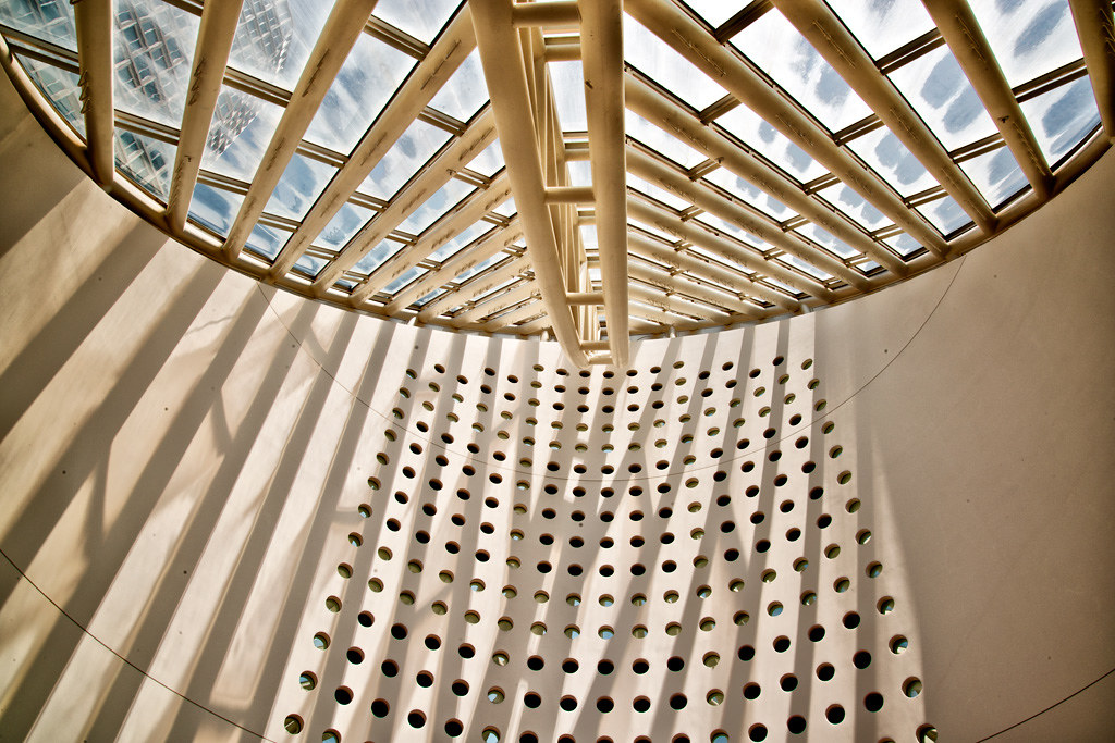 Interior of roof at san francisco museum of modern art for Contemporary art museum san francisco