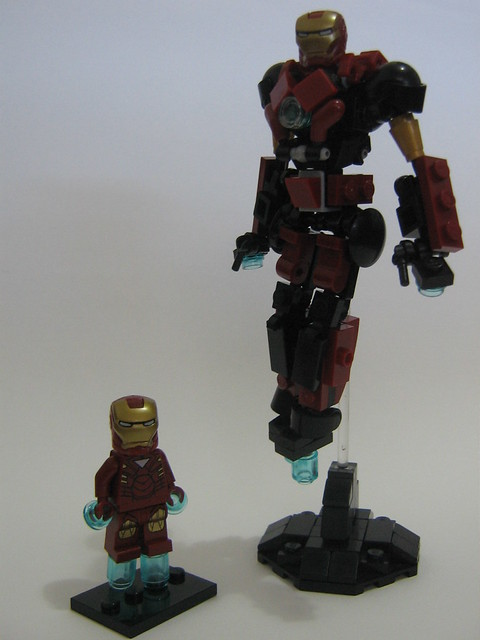 lego iron man mark 23 - photo #23