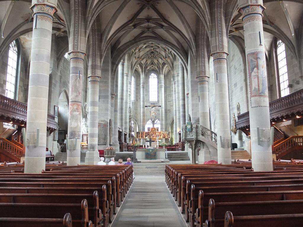 the Protestant church of St. Michael in Schwäbisch Hall, i ...