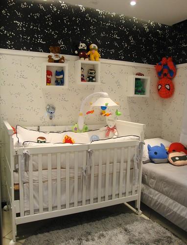 papel de parede decoracao de interiores:de interiores e exteriores Quarto do bebê – papel de parede