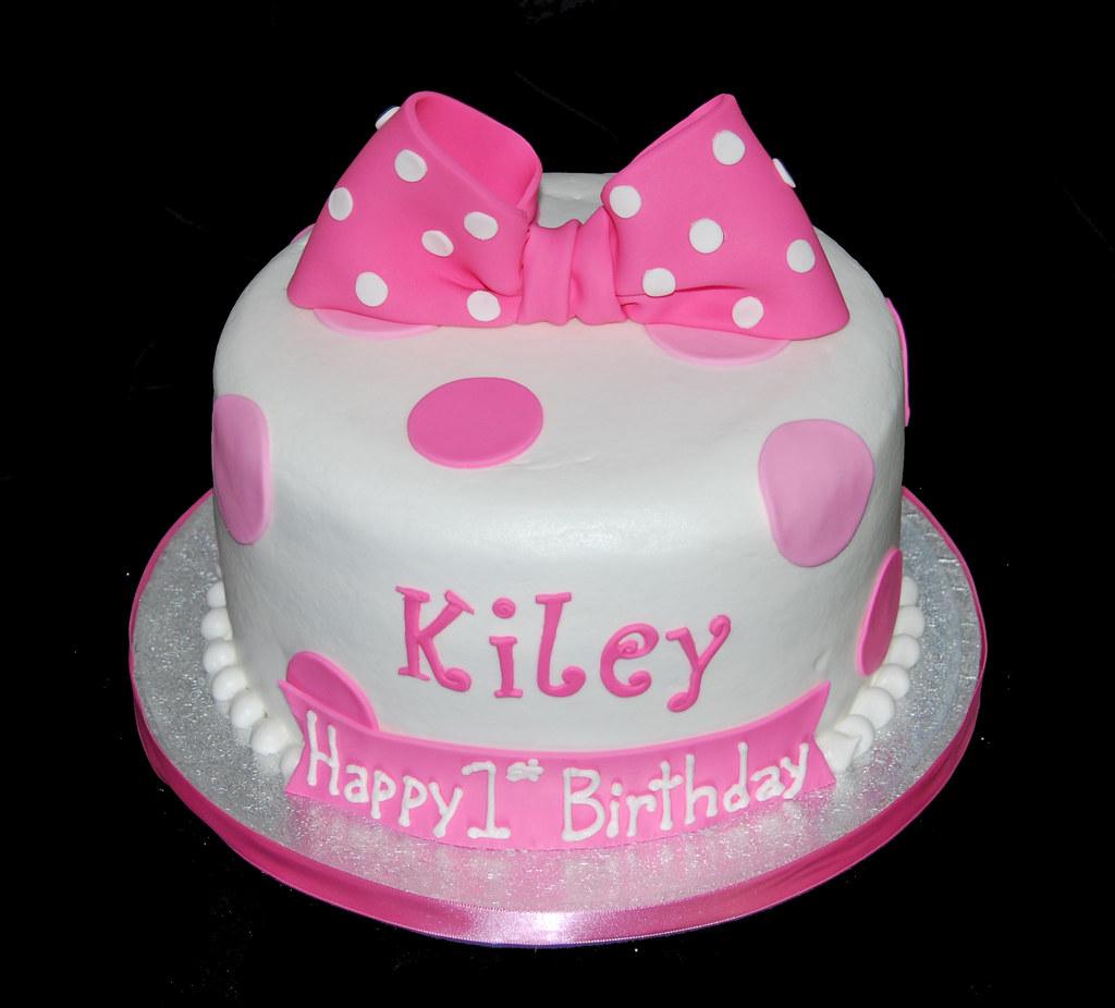 Polka Dot Baby Shower Cake Ideas