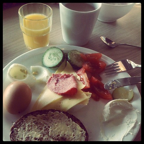 Breakfast courtesy of #Meininger #Berlin | by Fluent In Frolicking
