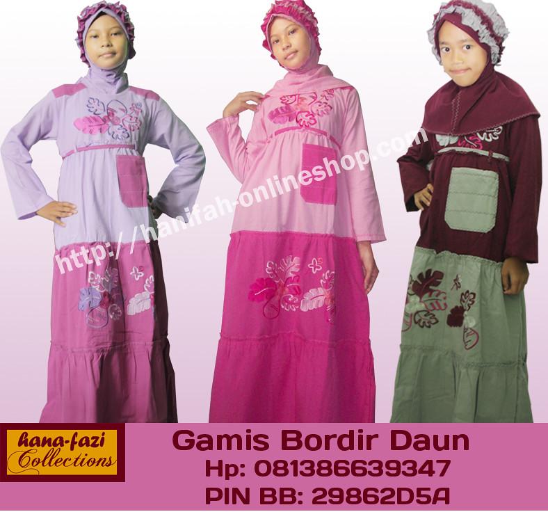Gamis Anak Terbaru Hana Fazi Model Baju Muslim Anak
