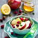 Apple and cranberry salad