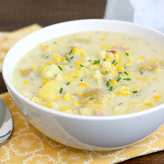 Summer Corn Chowder | by Tracey's Culinary Adventures