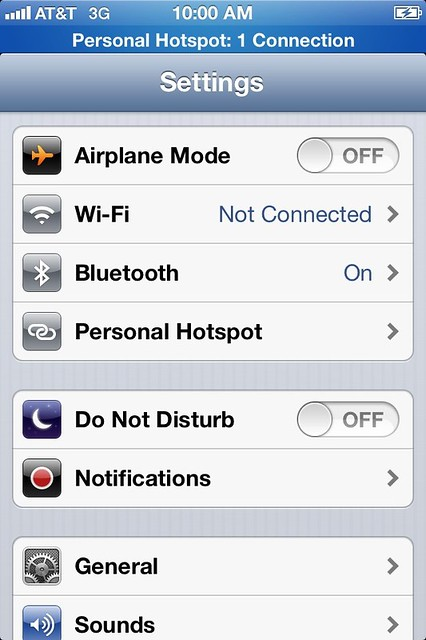 personal hotspot working on at t iphone for comparison by misterbisson flickr photo. Black Bedroom Furniture Sets. Home Design Ideas