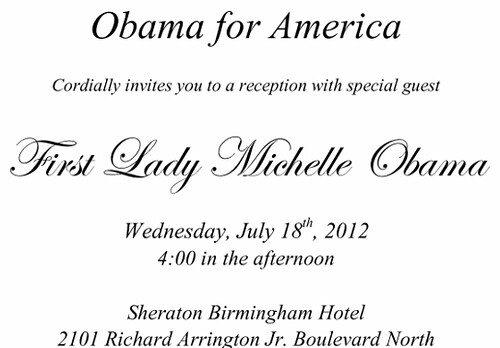 Michelle Obama Comes To Birmingham | by Left in Alabama