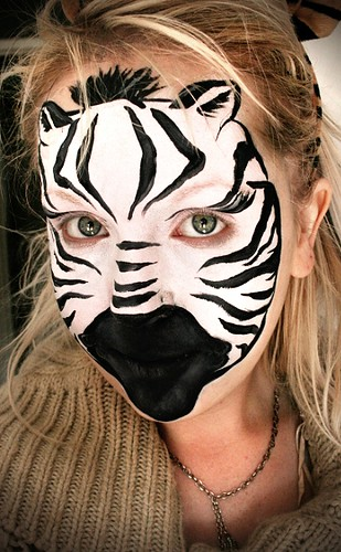 Zebra Face Painting Pictures