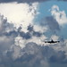 ANA Boeing 747 landing to Haneda