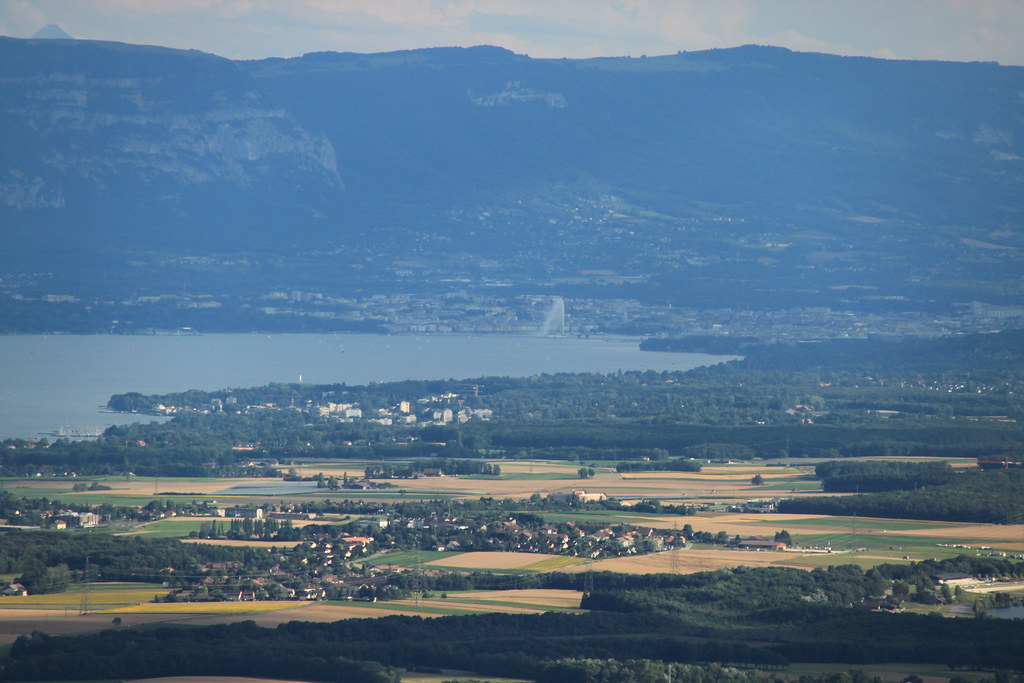 Geneva >> Switzerland and Geneva lake | View from Jura Mountains - Tri… | Flickr