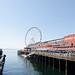 View of Elliot Bay & Seattle's Great Wheel, Seattle