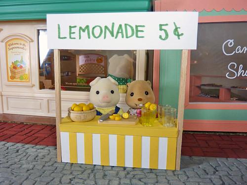 Summertime: Mini Lemonade Stand