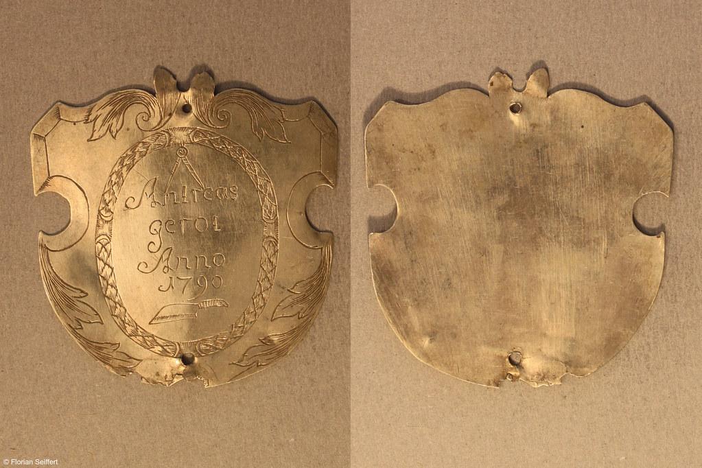 Koenigsschild Flittard von gerod andreas aus dem Jahr 1790