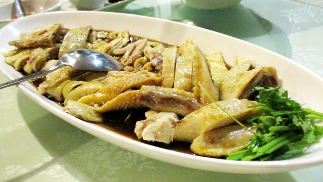 Flavours Thai Kitchen steamed chicken