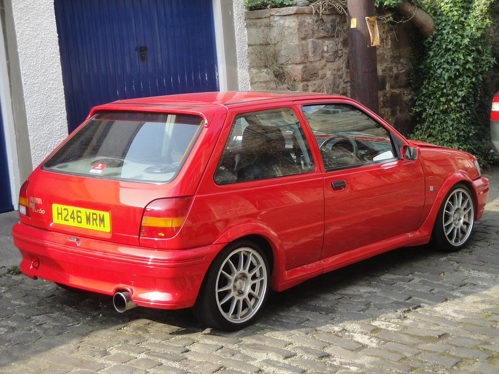 1990 ford fiesta rs turbo alan gold flickr. Black Bedroom Furniture Sets. Home Design Ideas