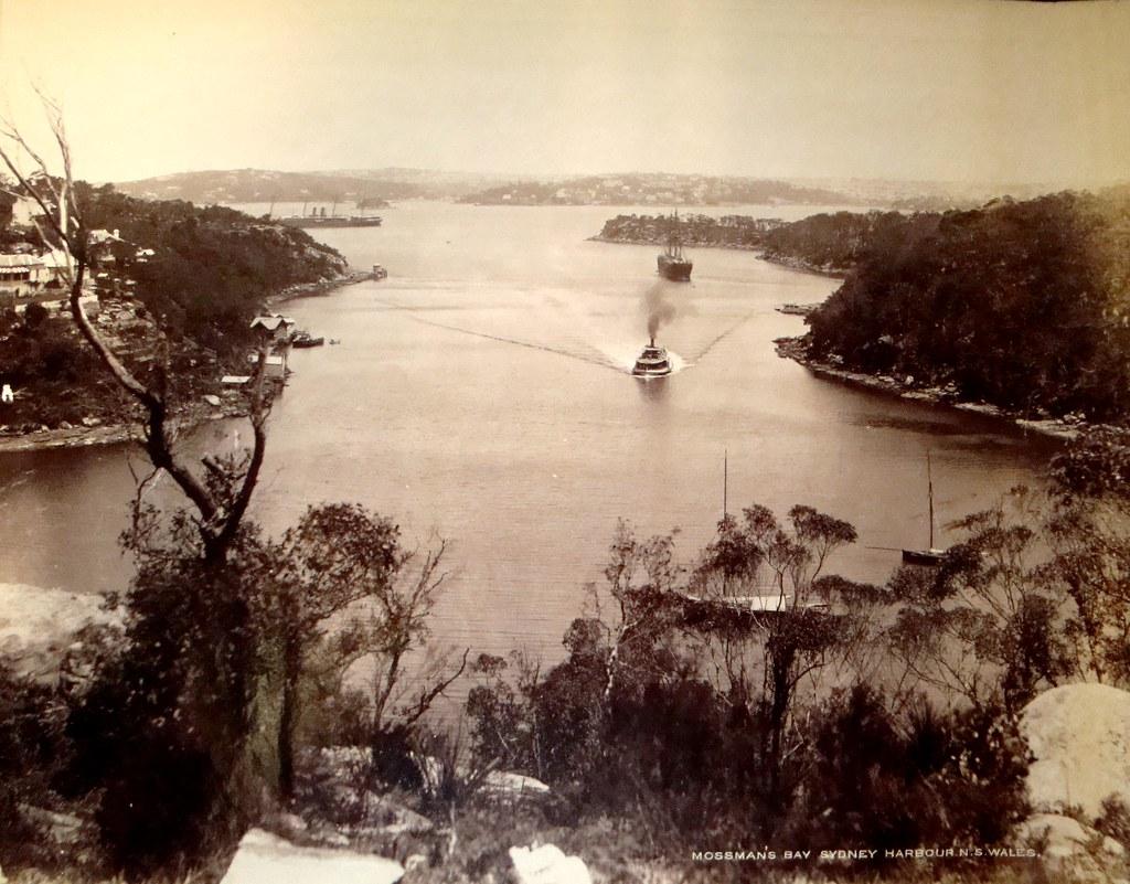 mosman bay  sydney harbour  australia early 1900s