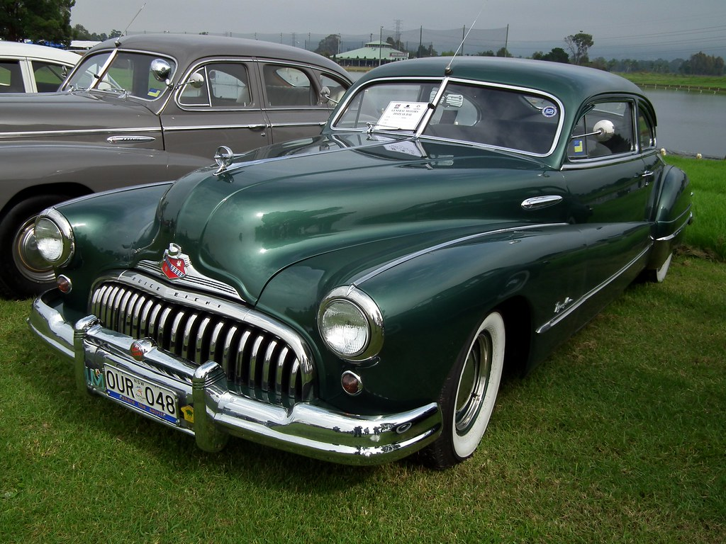 1948 Buick Eight Roadmaster coupe | 1948 Buick Eight ...