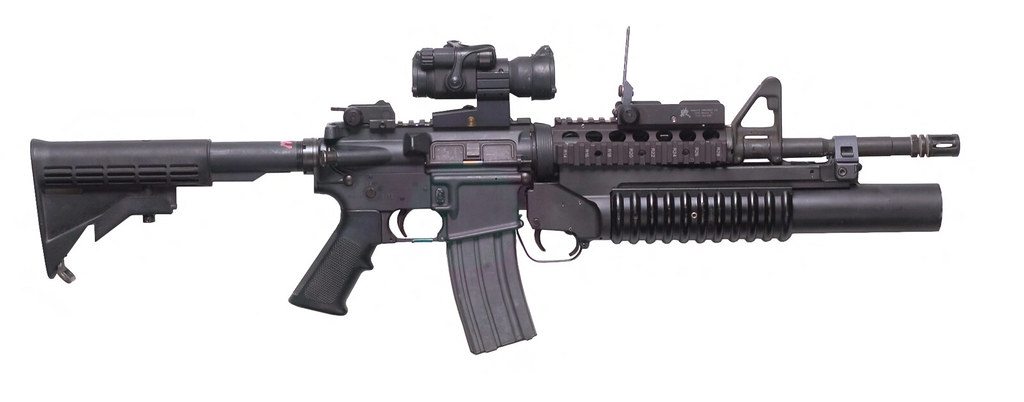 M4 Carbine with M203 G...