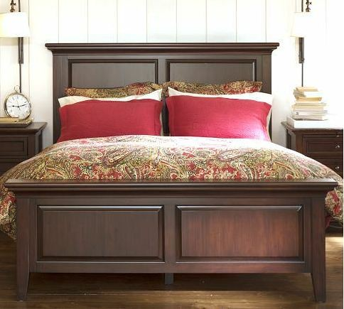 Pottery Barn Hudson King Sized Bed Frame Only Used For A