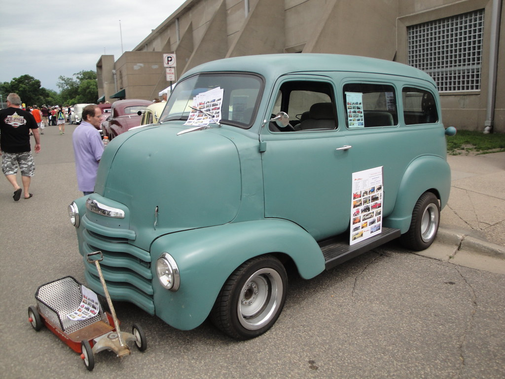 1950 Chevrolet COE Suburban (Cab Over Engine) | Minnesota ...