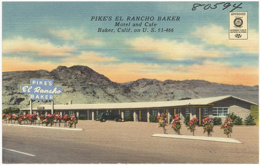 Motels In Baker Ca