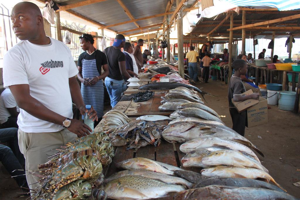 Maputo Fish Market The Fish Market In Maputo Is An