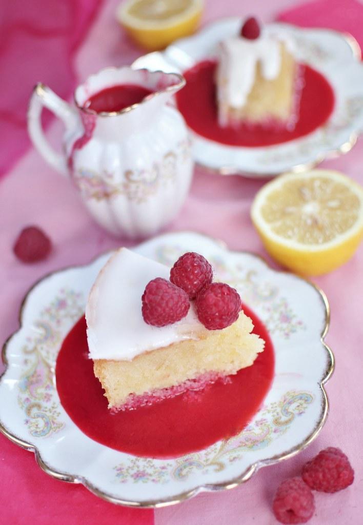 Lemon And Raspberry Cake Uk