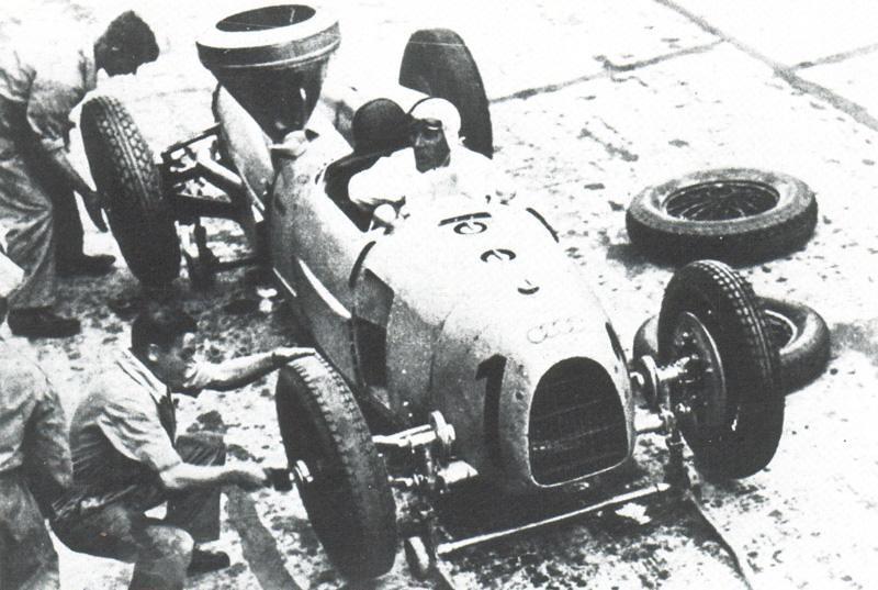 1934 Auto Union Typ A Hans Stuck at German Grand Prix 1 ...