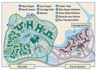 Disney 39 S Port Orleans Resort Map Resort Map Darren Wittko Flickr