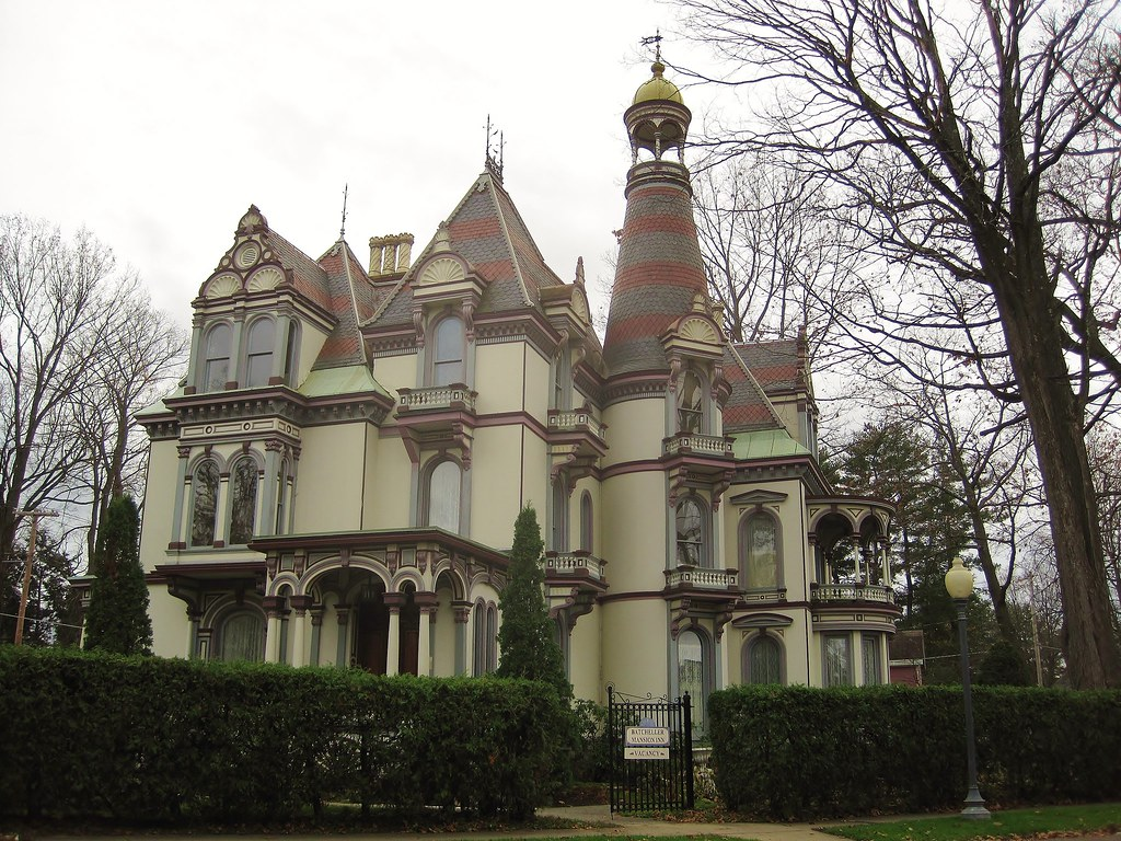 Saratoga Springs Ny George S Batcheller Mansion 20