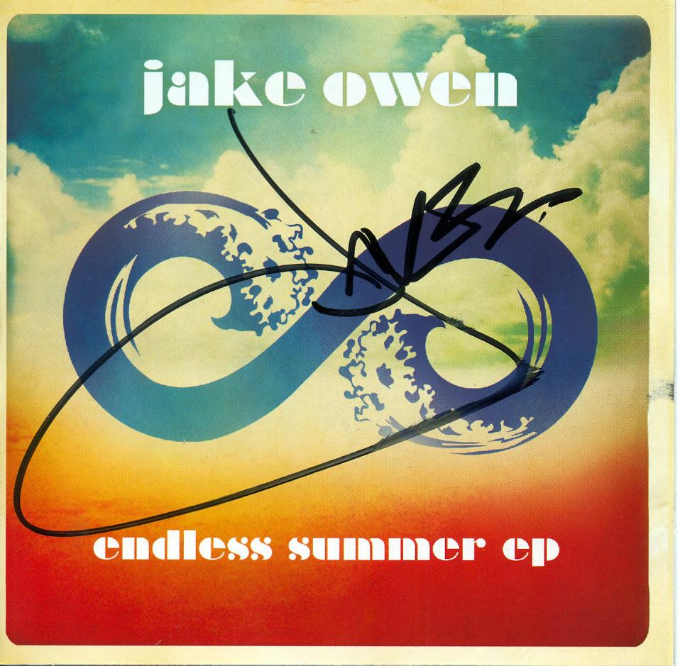 Endless Summer Jake Owen Autographed Endless Su...