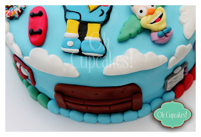 Torta Bart Simpson! | Flickr - Photo Sharing!