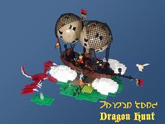 Dragon Hunt by Jan Woznica