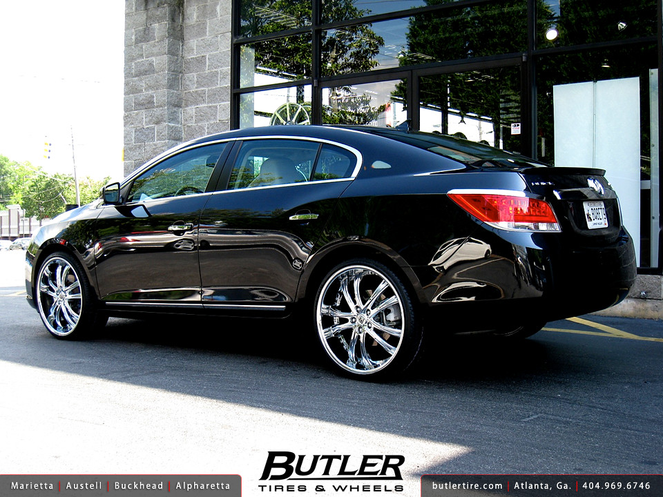 buick lacrosse with 22in lexani