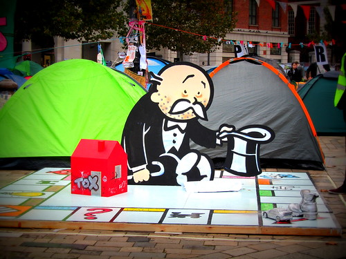 monopoly and Occupy London | by minnie ko