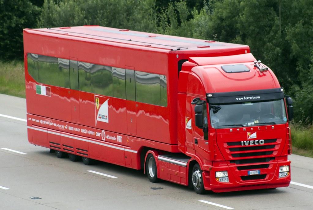 Scuderia Ferrari Iveco Stralis CK 821PA   Gyles Carpenter   Flickr