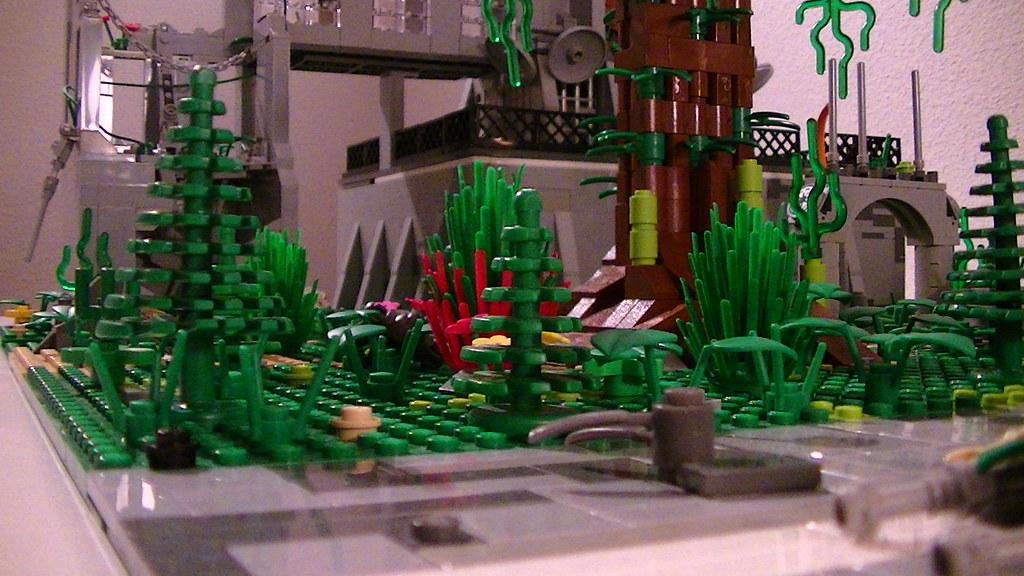 Lego Star Wars Alderaan Lego Star Wars Ruins on