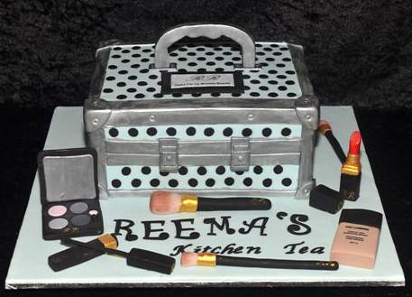 Makeup Box Cake Images
