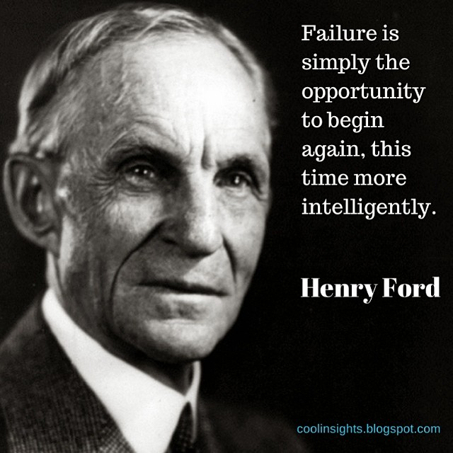 failure is an opportunity to begin again essay In fact, we're so focused on not failing that we don't aim for success, settling  instead  related: 10 things successful people never do again.