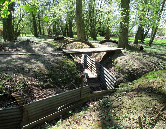 More Trench Remnants, Hooge Crater Open Air Museum