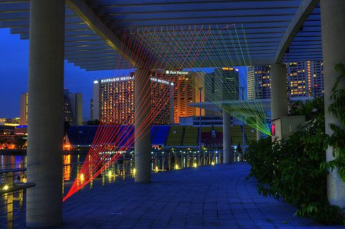 I light show at marina bay | by oldhometown