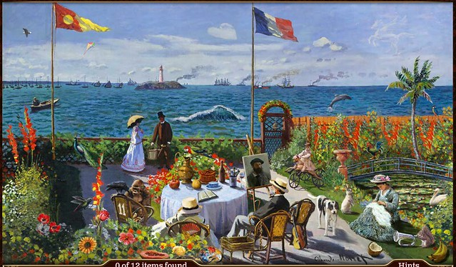 the parisian painter part 1 scene 5 jardin a sainte adresse flickr photo sharing. Black Bedroom Furniture Sets. Home Design Ideas