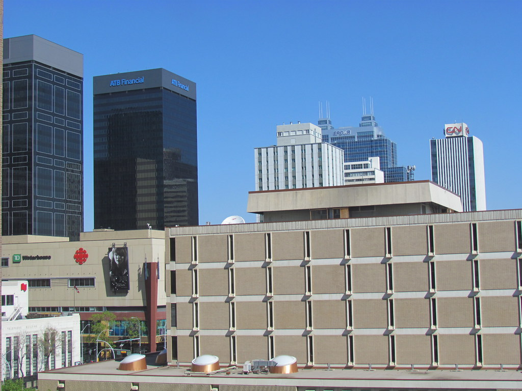 view from jimbob s hotel room in downtown edmonton part. Black Bedroom Furniture Sets. Home Design Ideas