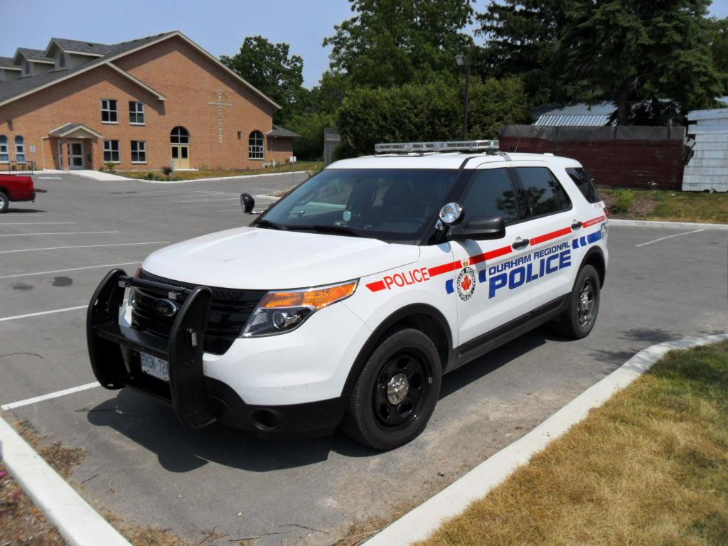 Durham Regional Police Ford Interceptor Utility North