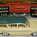 1960 Rambler Cross Country Station Wagon Promo Model Car - Westchester Green over Autumn Yellow