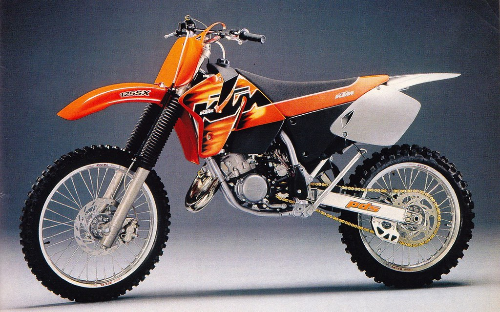 1998 ktm 125 | tony blazier | flickr