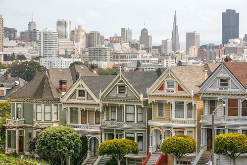 The Painted Ladies, San Francisco | by Alex E. Proimos