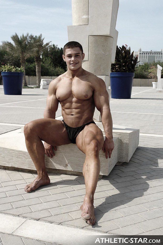 Russian Bodybuilder Alexey | Shooting for www.athletic ...
