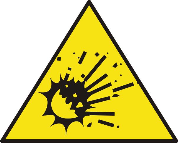 RIESGO DE EXPLOSION Pictograma advertencia e coordina Flickr