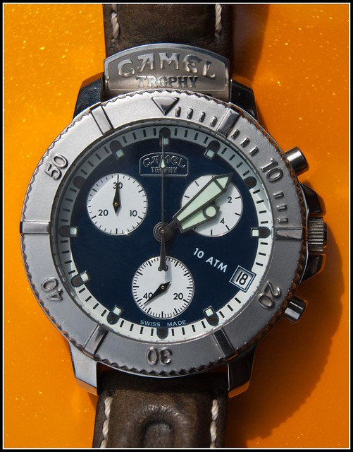 ade5b033851 Camel Trophy Chronograph Adventure Watches - YouTube